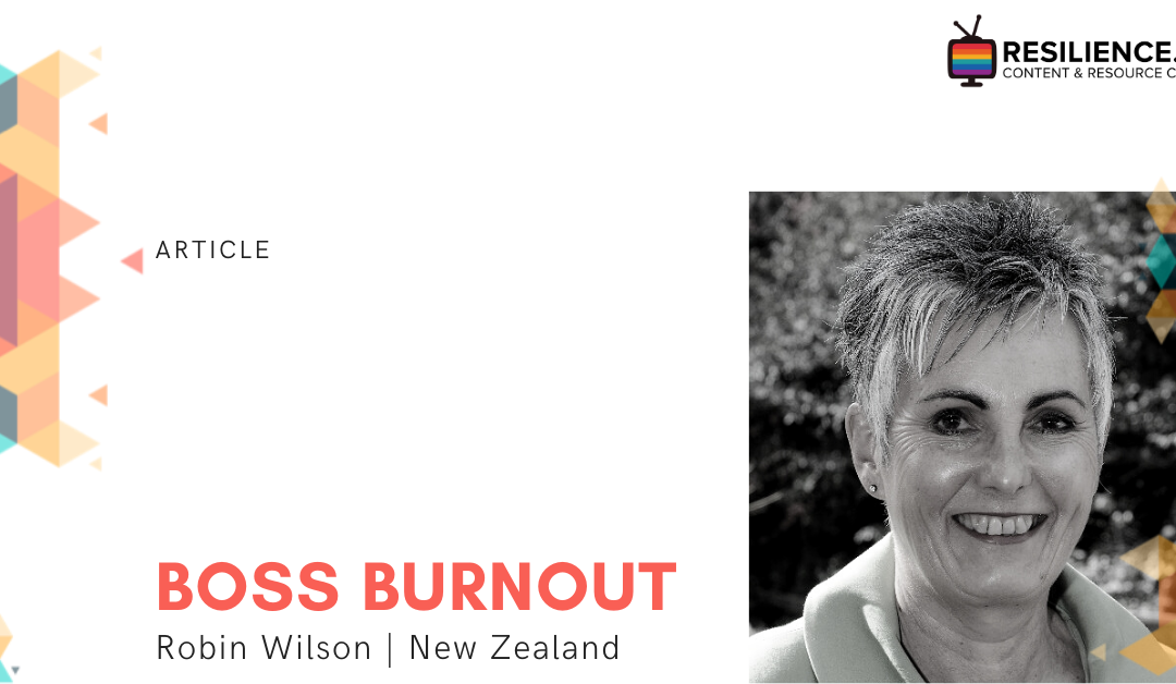 Boss Burnout – What to look out for and how to avoid it